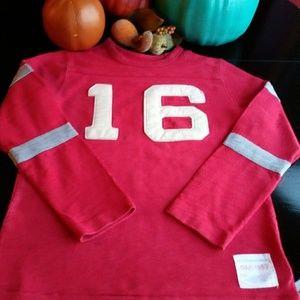 Gap Football Sweatshirt boys sz10